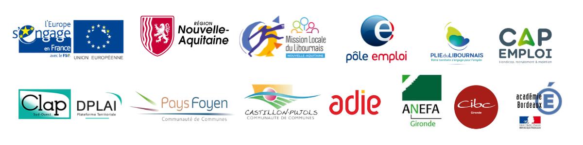 Logos partenaires erip